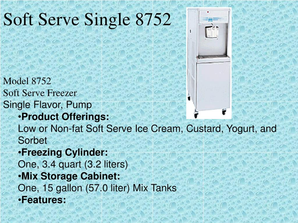 Soft Serve Single 8752