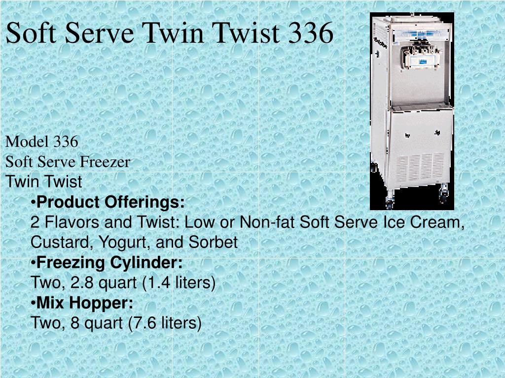 Soft Serve Twin Twist 336