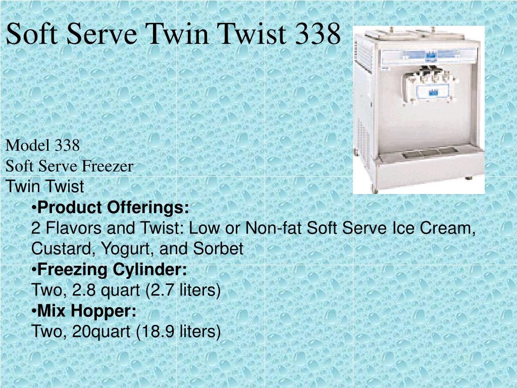Soft Serve Twin Twist 338