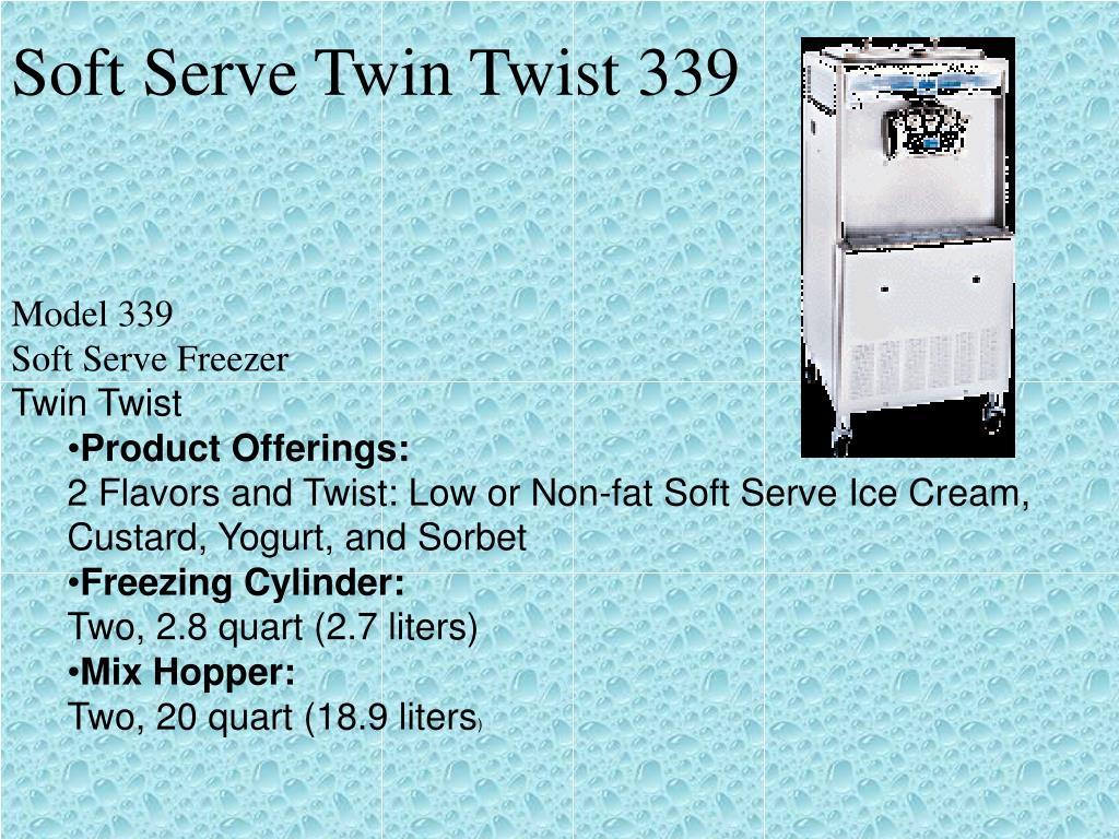 Soft Serve Twin Twist 339
