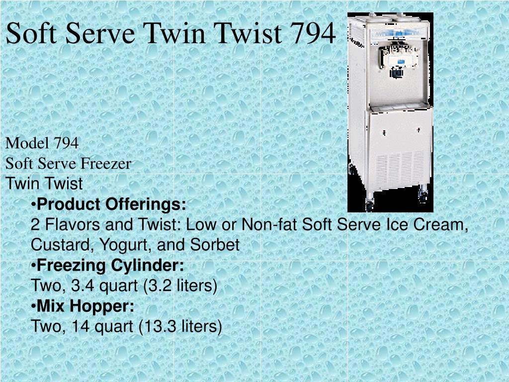 Soft Serve Twin Twist 794