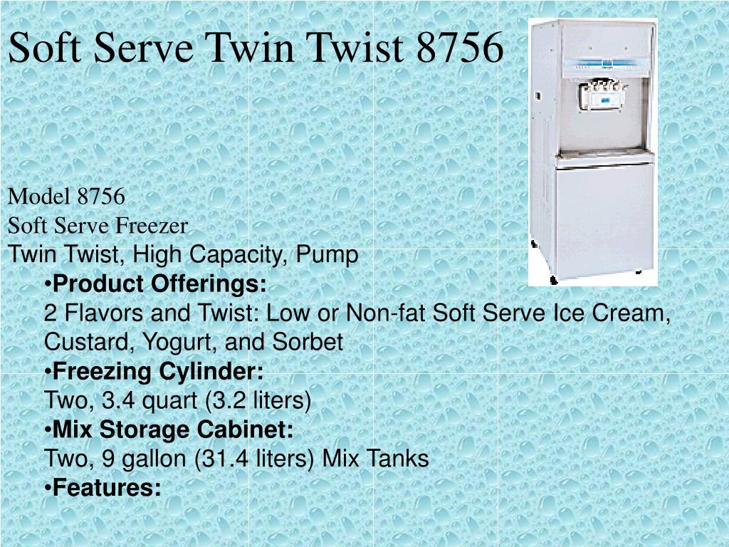 Soft Serve Twin Twist 8756