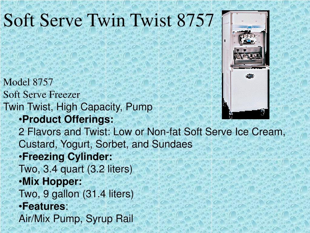 Soft Serve Twin Twist 8757
