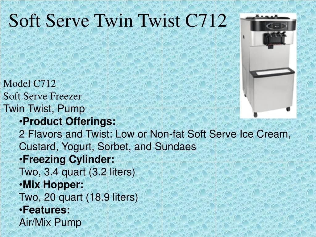 Soft Serve Twin Twist C712