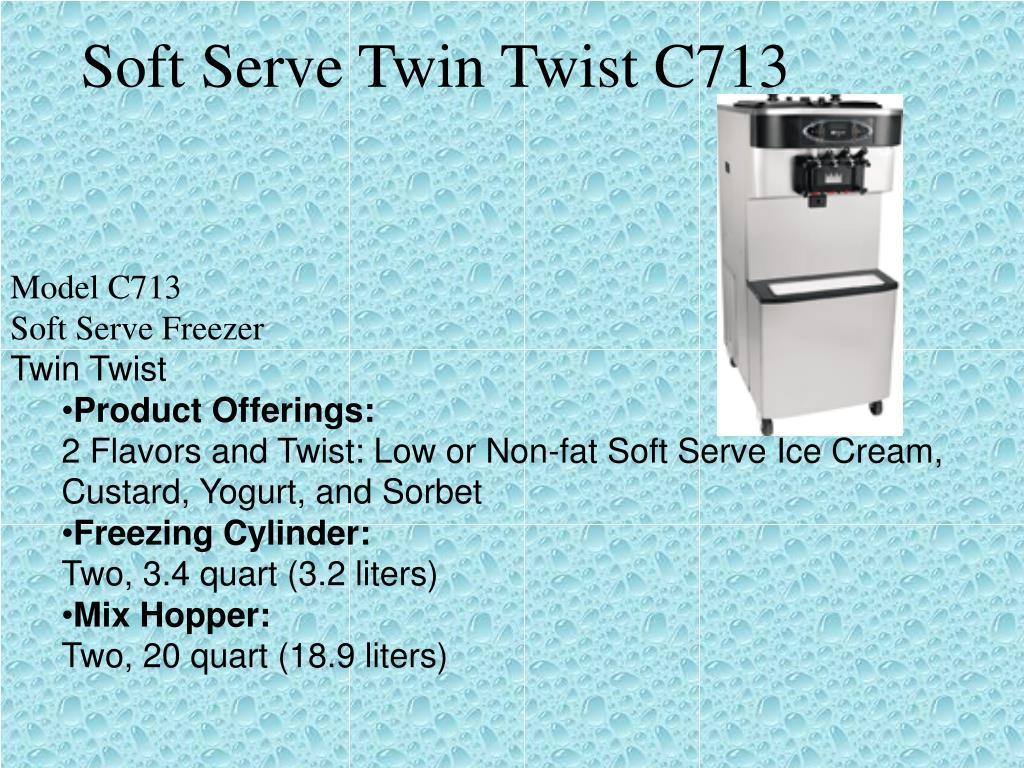 Soft Serve Twin Twist C713