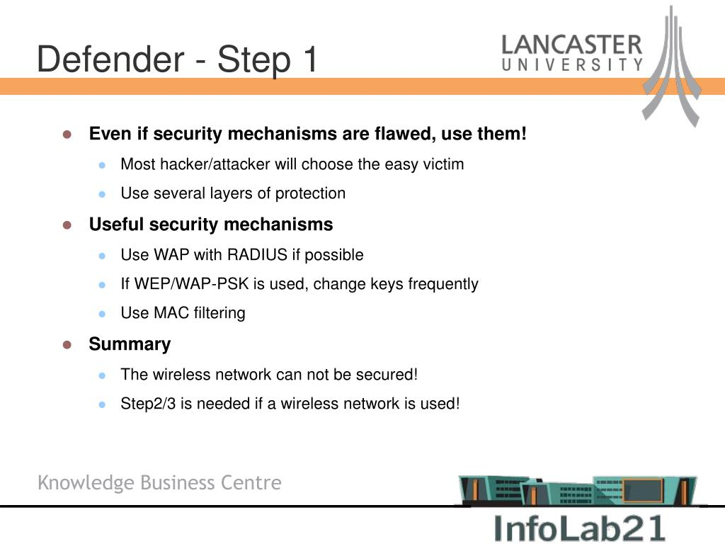 Even if security mechanisms are flawed, use them!