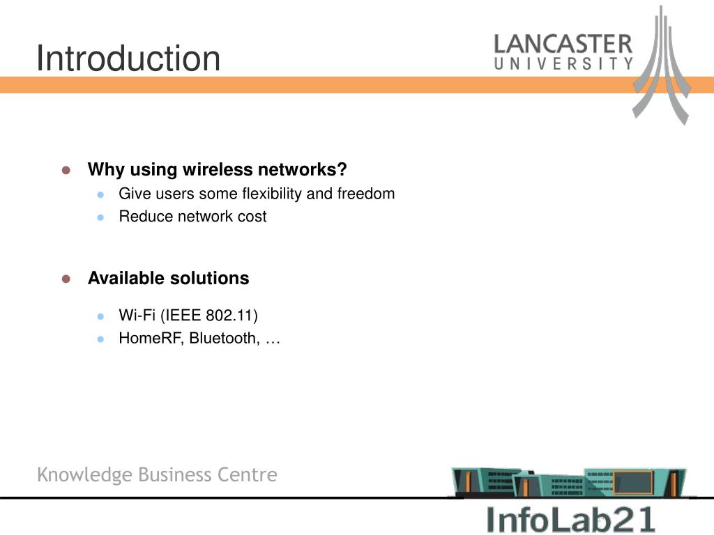 Why using wireless networks?