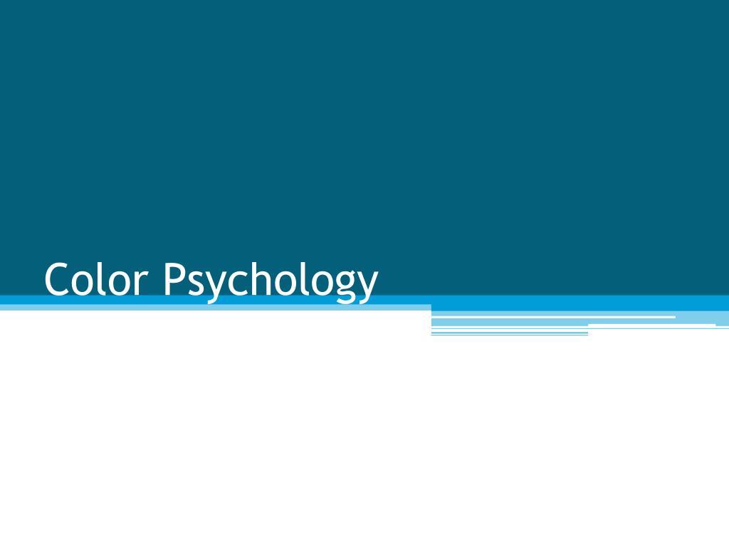 Ppt color psychology powerpoint presentation id 410836 - Light blue color psychology ...