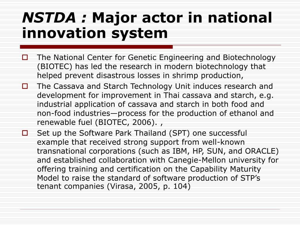 NSTDA :
