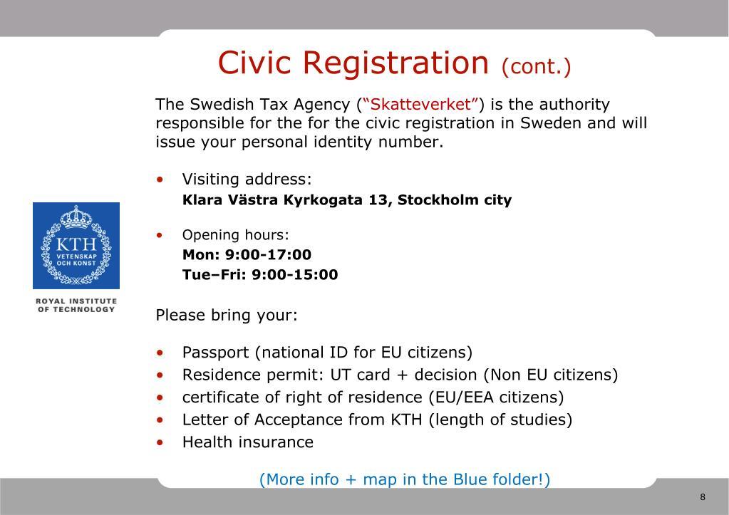 Civic Registration