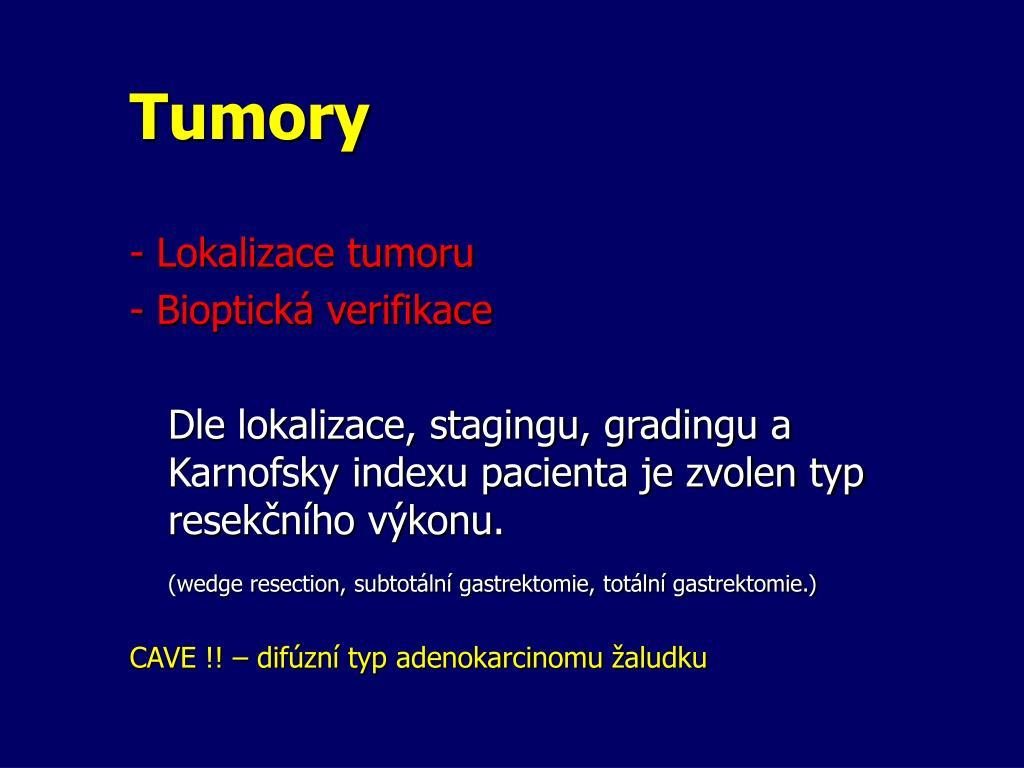 Tumory