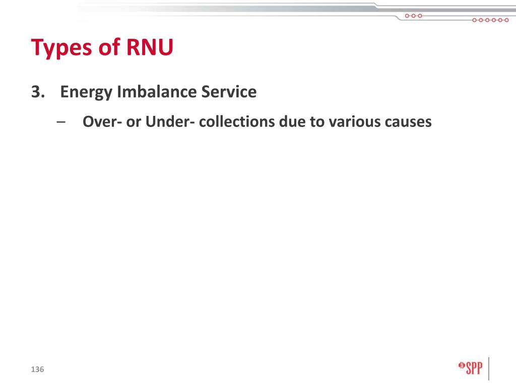 Types of RNU