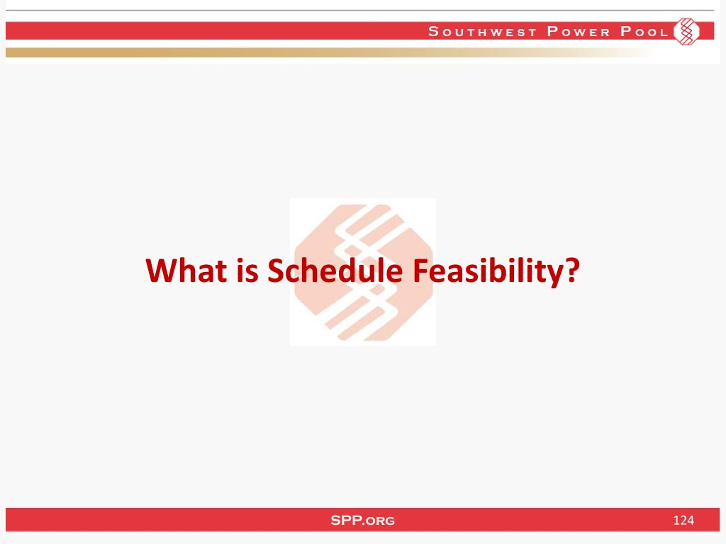 What is Schedule Feasibility?