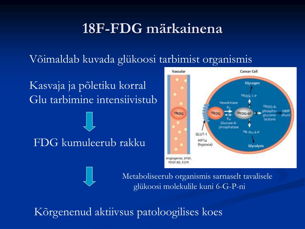 18F-FDG märkainena