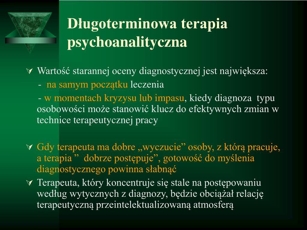 Długoterminowa terapia psychoanalityczna