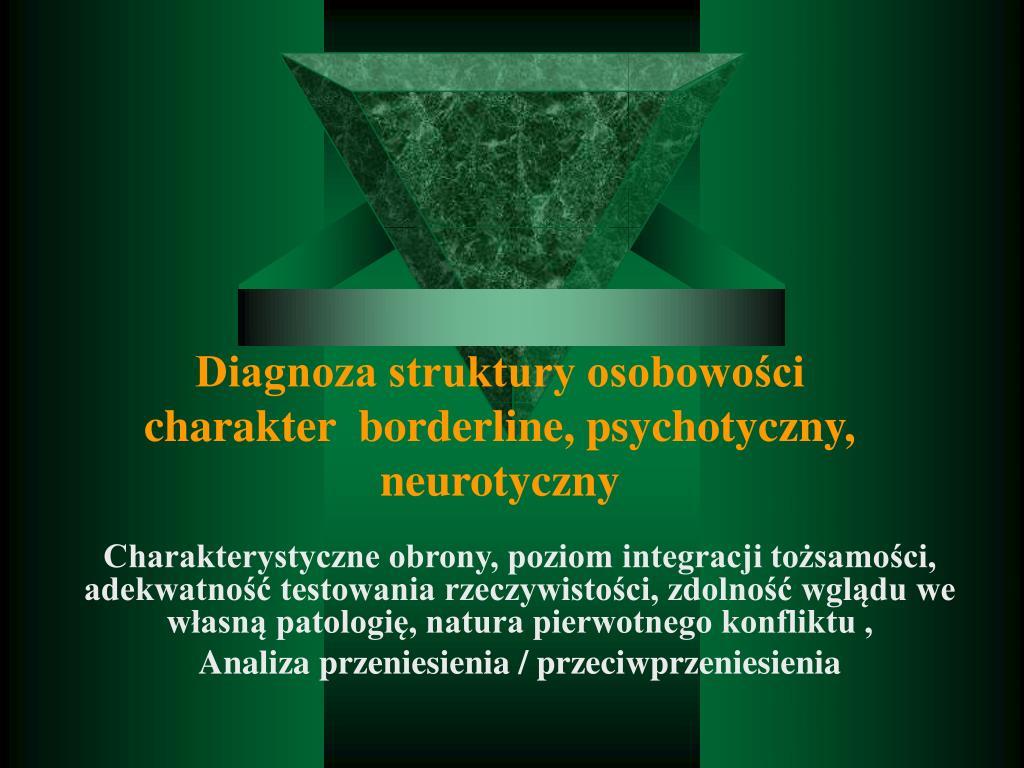 Diagnoza struktury osobowości