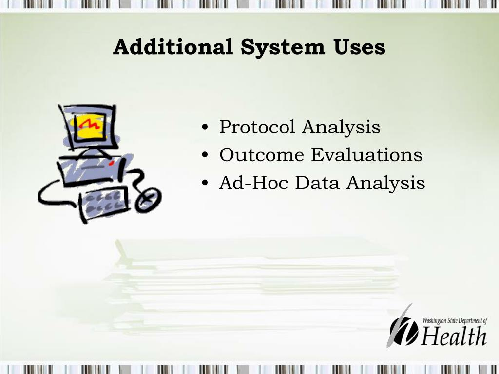 Additional System Uses