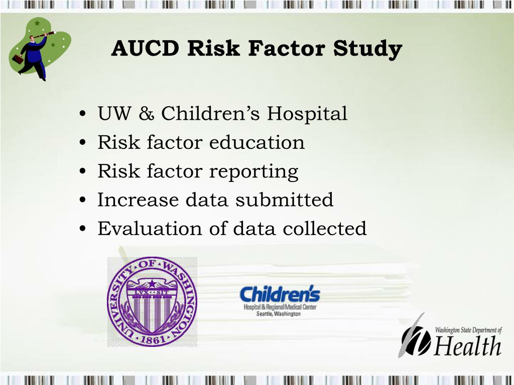 AUCD Risk Factor Study