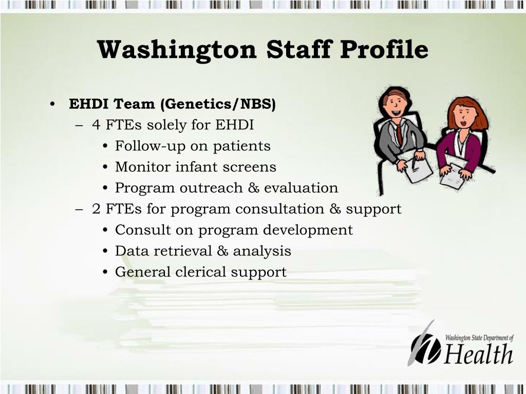 Washington Staff Profile