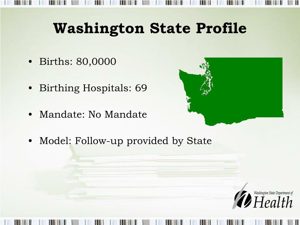 Washington State Profile