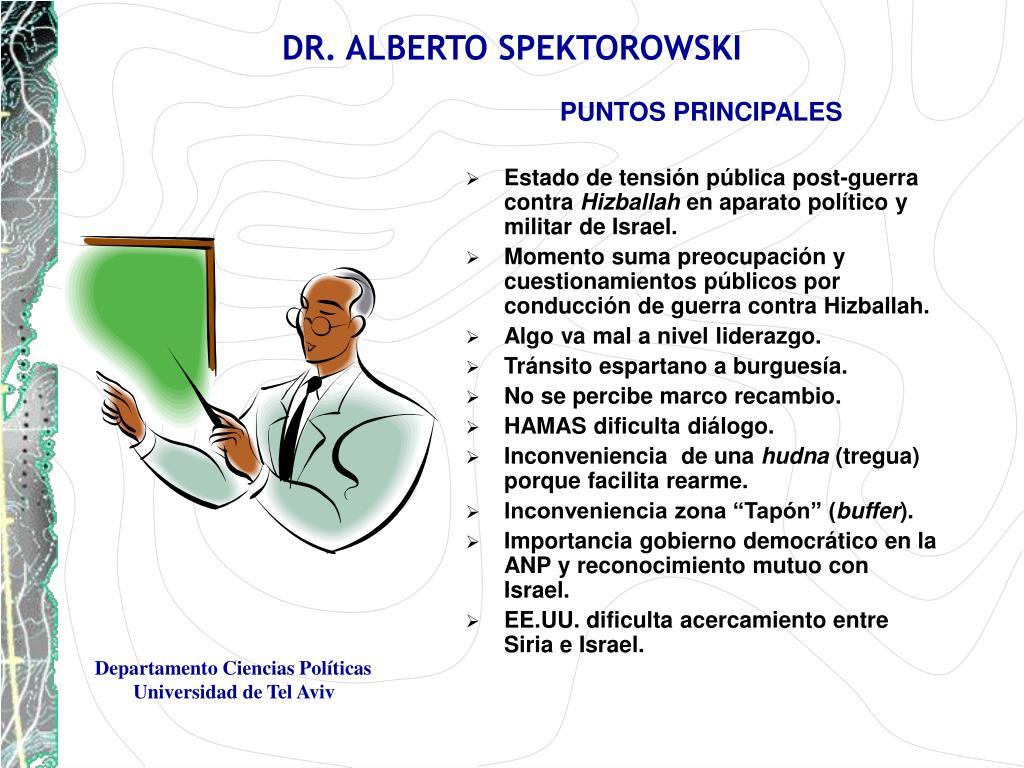 DR. ALBERTO SPEKTOROWSKI