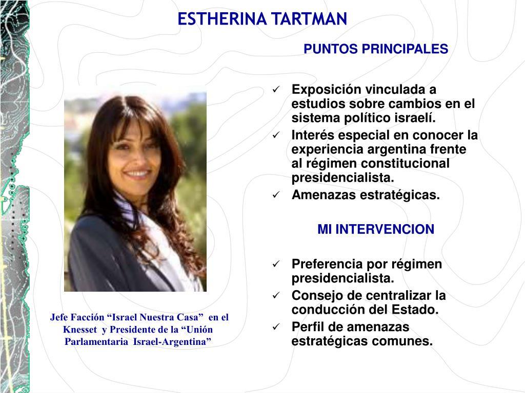 ESTHERINA TARTMAN