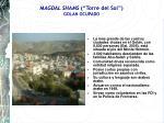 magdal shams torre del sol golan ocupado