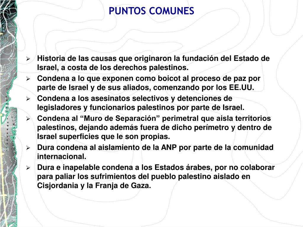 PUNTOS COMUNES
