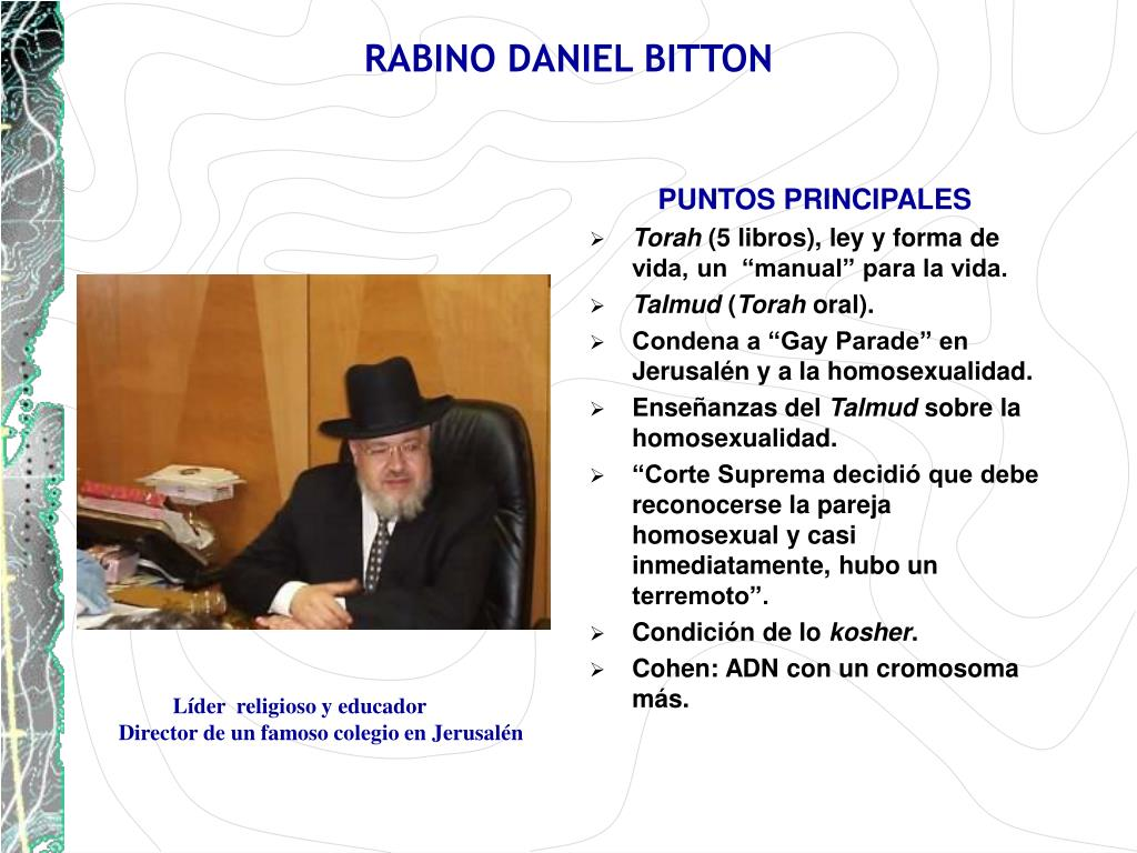 RABINO DANIEL BITTON