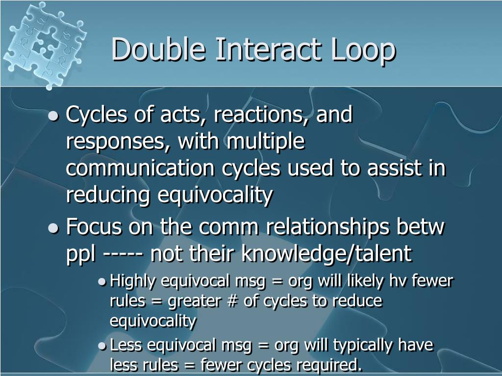 Double Interact Loop