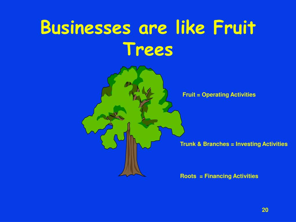 Businesses are like Fruit Trees
