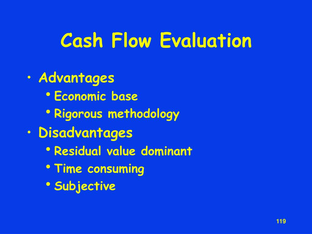 Cash Flow Evaluation