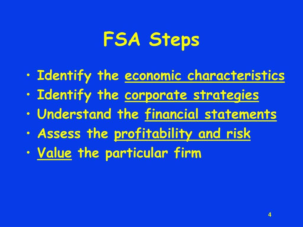 FSA Steps