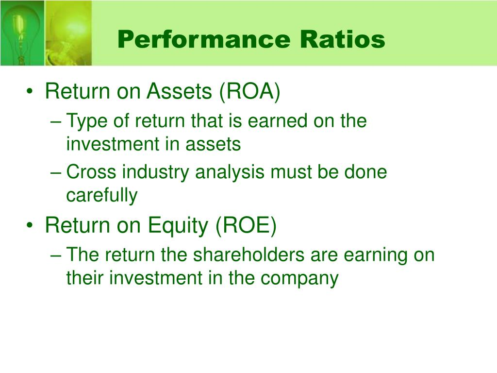 Performance Ratios
