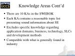 knowledge areas cont d7
