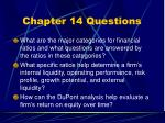 chapter 14 questions3