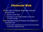financial risk50
