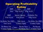 operating profitability ratios44