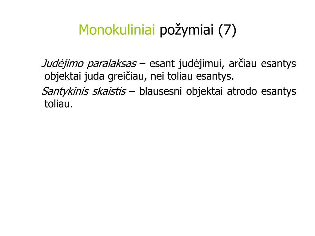 Monokuliniai