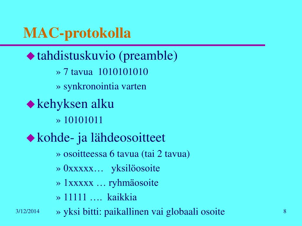 MAC-protokolla