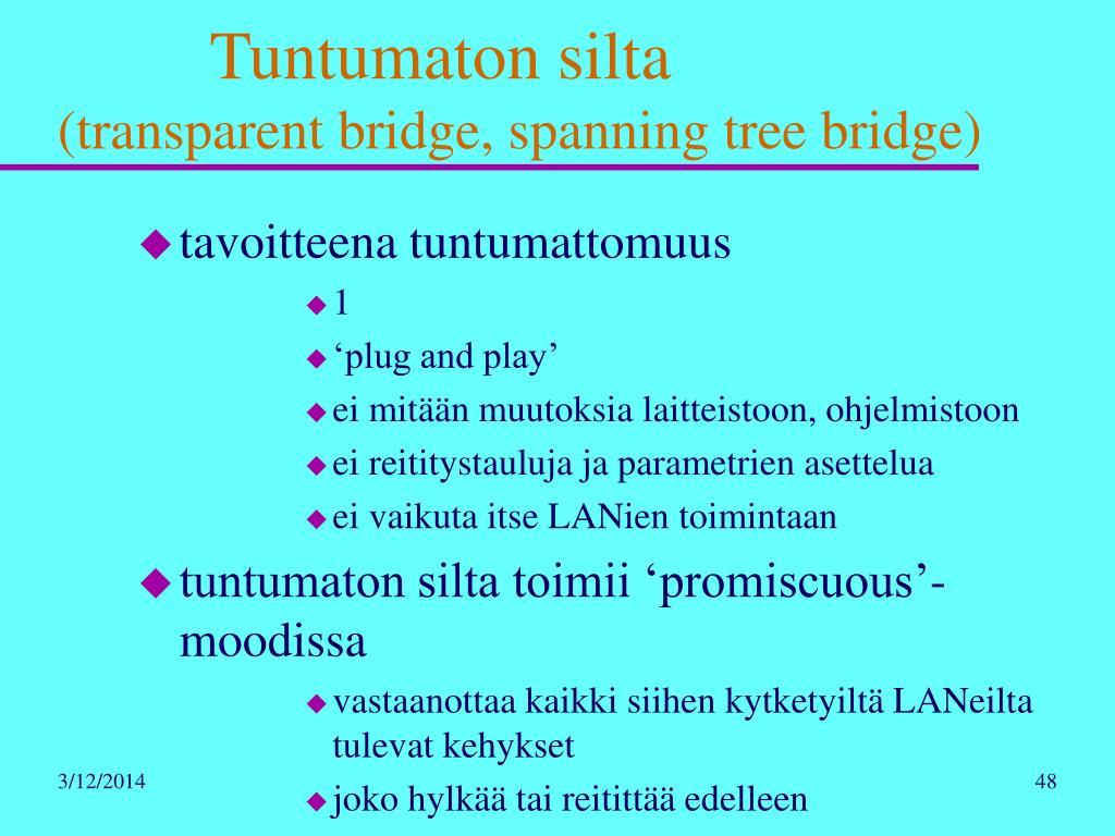 Tuntumaton silta