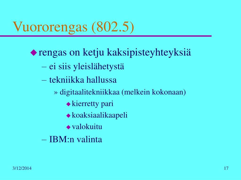 Vuororengas (802.5)