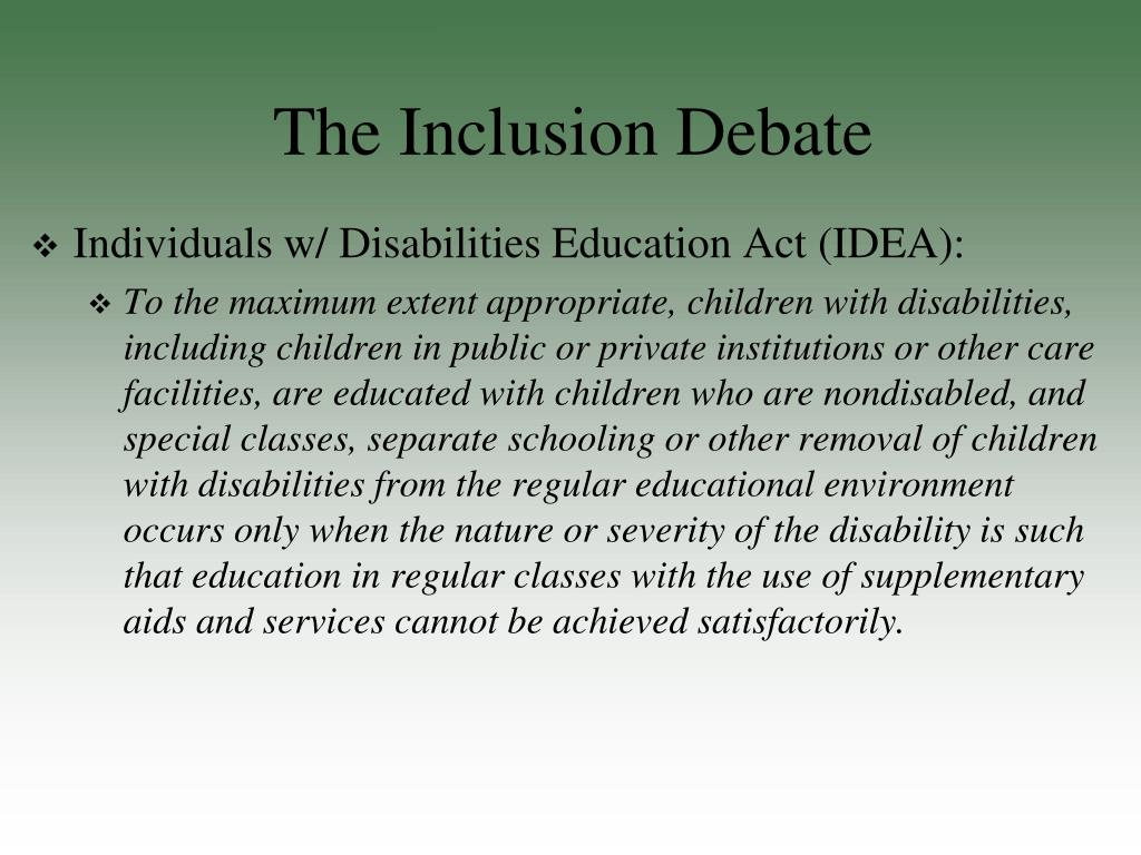 special education inclusion vs self contained Do you know the difference between special education terms mainstreaming and inclusion this article will walk you through the major differences between them, both ideologically and in practice.