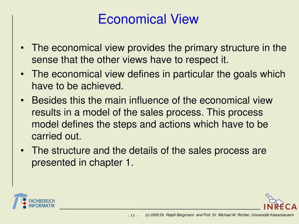 Economical View