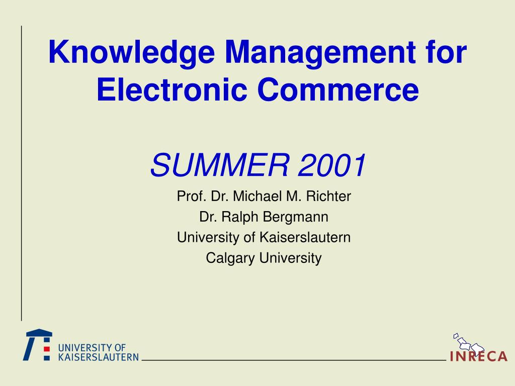 Knowledge Management for