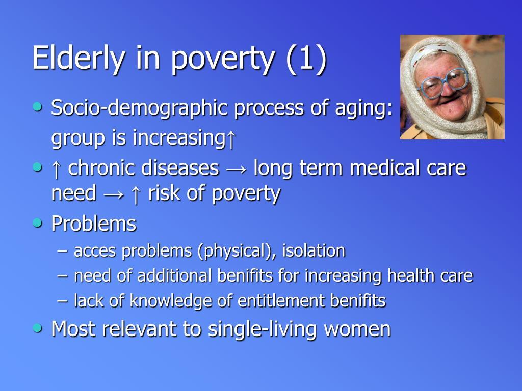 Elderly in poverty (1)