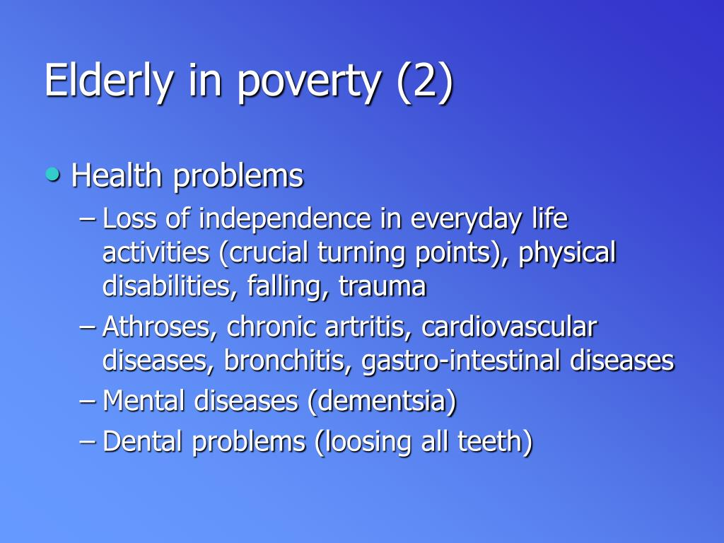 Elderly in poverty (2)