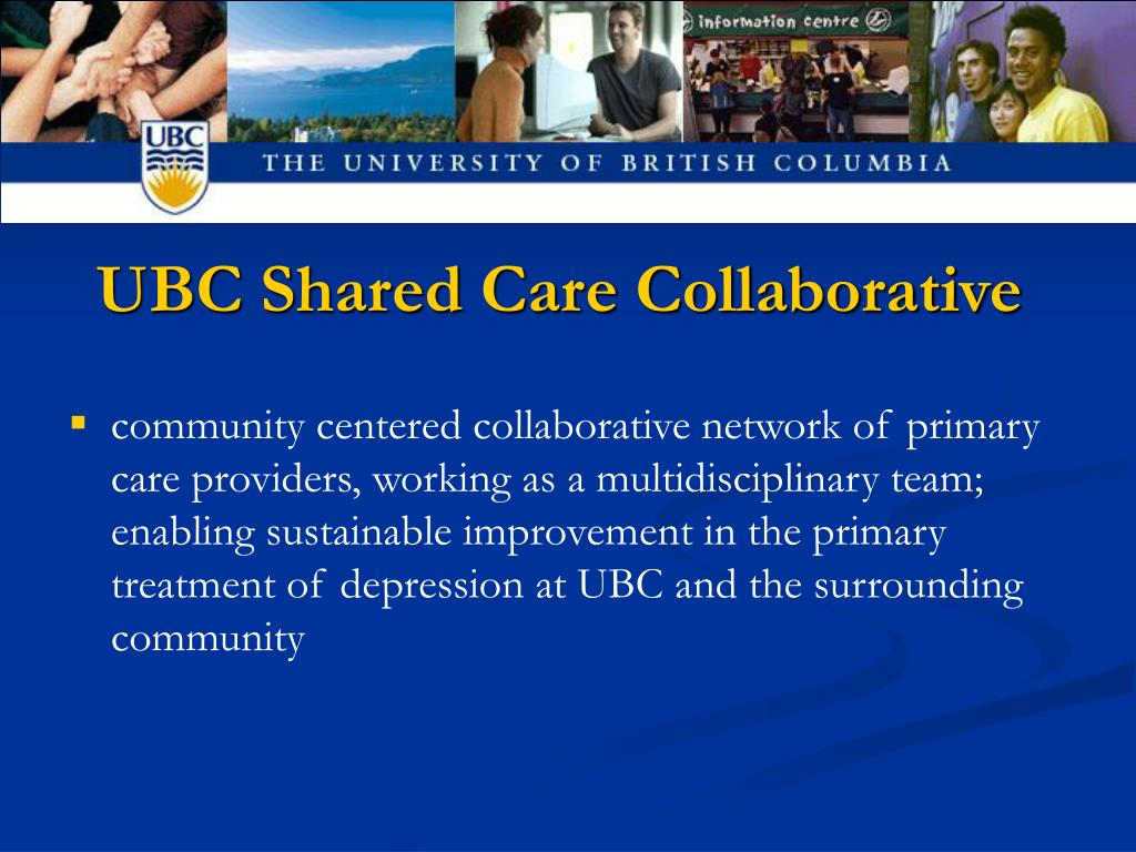 UBC Shared Care Collaborative