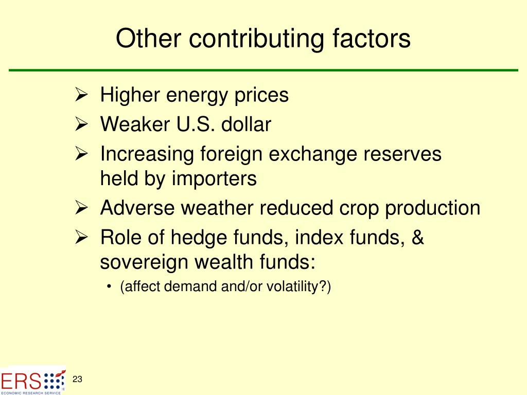 Other contributing factors