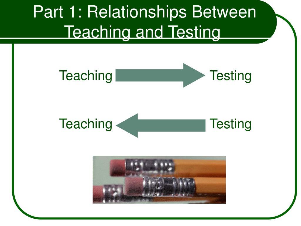 Part 1: Relationships Between
